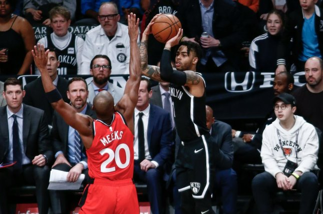 new product fab23 a624e Brooklyn Nets' D'Angelo Russell cited for marijuana ...