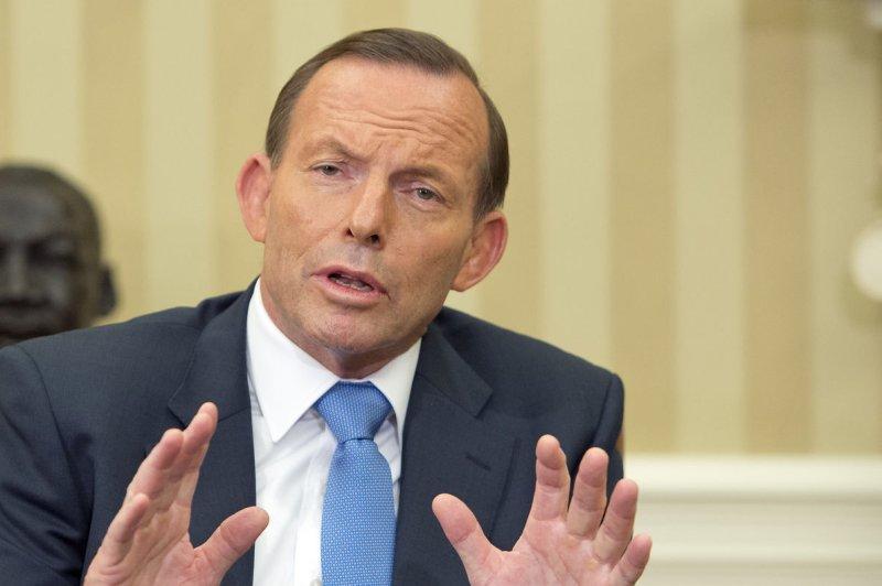 Prime Minister Tony Abbott of Australia. UPI/Ron Sachs/Pool