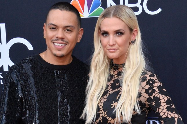 Married couple Evan Ross (L) and Ashlee Simpson have released a duet together titled I Do. File Photo by Jim Ruymen/UPI