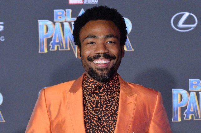 The Lion King star Donald Glover. Disney has released a new poster for the upcoming remake. File Photo by Jim Ruymen/UPI