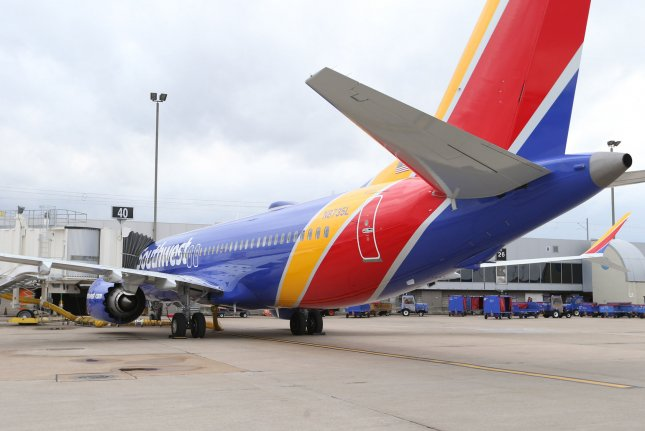 Southwest Airlines said it will notify passengers whose booked flights are affected by the grounding extension. File Photo by Bill Greenblatt/UPI