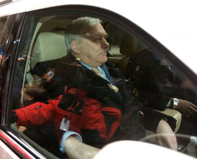 Former Media Mogul Conrad Black leaves Federal Court after being sentenced to 78 months in prison on December 10, 2007, in Chicago. (UPI File Photo/Brian Kersey)
