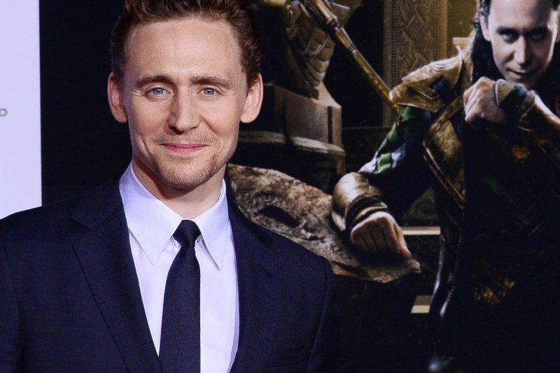 Actor Tom Hiddleston. (File/UPI/Jim Ruymen)