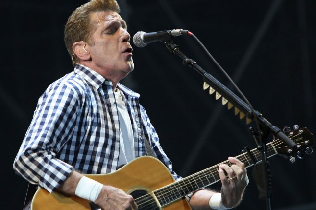 Glenn Frey of The Eagles performs in concert at Stade Louis II in Monte Carlo, Monaco, on June 30, 2011. Frey died of complications from several intestinal conditions in New York on January 18. Photo by UPI/ David Silpa