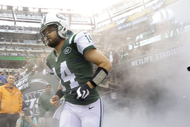 best cheap cbd39 a3b5f Ryan Fitzpatrick: New York Jets quarterback willing to sign ...