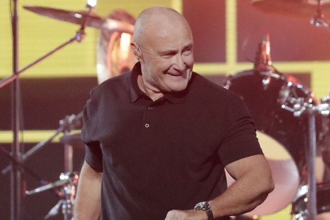 Phil Collins will extend his Not Dead Yet comeback tour with new U.S. dates in the fall. File Photo by John Angelillo/UPI