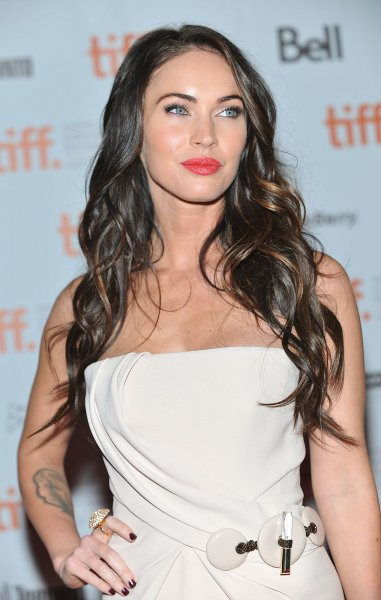 Megan Fox arrives on the red carpet as they arrive for the premiere of 'Passion Play' at Ryerson Theater during the Toronto International Film Festival in Toronto, Canada on September 10, 2010. UPI/Christine Chew