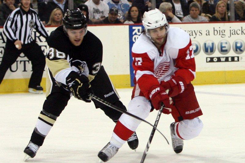 buy popular b2664 58f68 Anaheim Ducks acquire F Patrick Eaves from Dallas Stars ...