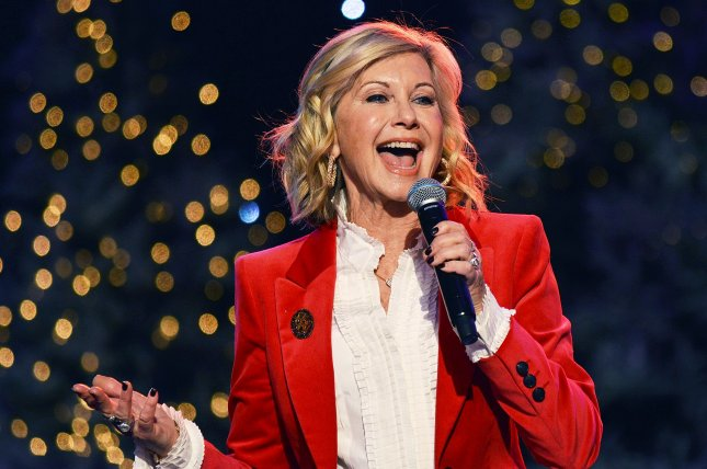 Olivia Newton-John shared a video message following reports she is clinging to life amid her battle with cancer. File Photo by Christine Chew/UPI