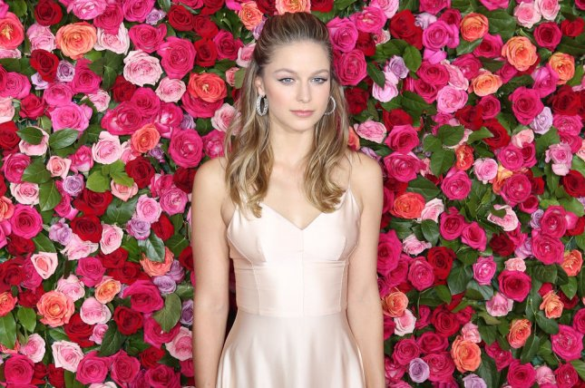 Supergirl star Melissa Benoist is engaged to her co-star, Chris Wood. File Photo by Serena Xu-Ning/UPI