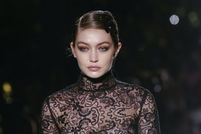 Gigi Hadid wrote an open letter requesting that paparazzi blur daughter Khai's face in published photos. FilePhoto by John Angelillo/UPI