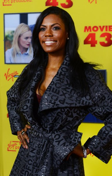 Omarosa Manigault attends the premiere of the motion picture comedy Movie 43 in Los Angeles on Jan. 23, 2013. UPI/Jim Ruymen