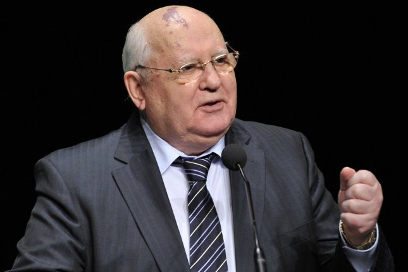 Former Soviet leader Mikhail Gorbachev pictured in 2012. UPI/Brian Kersey
