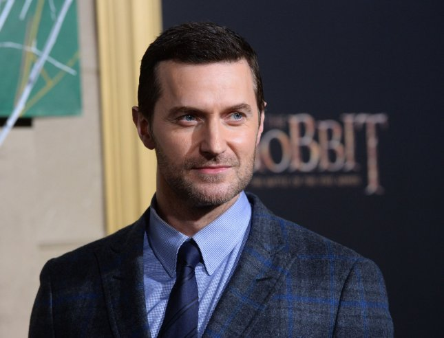 Actor Richard Armitage reads love poems in free download. He is seen here at the premiere of his movie The Hobbit: The Battle of Five Armies Dec. 9, 2014. Photo by Jim Ruymen/UPI