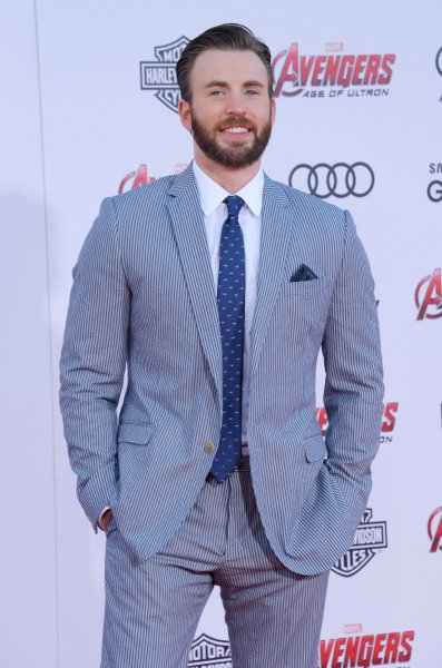 Chris Evans at the Los Angeles premiere of 'Avengers: Age of Ultron' on April 13, 2015. Photo by Jim Ruymen/UPI