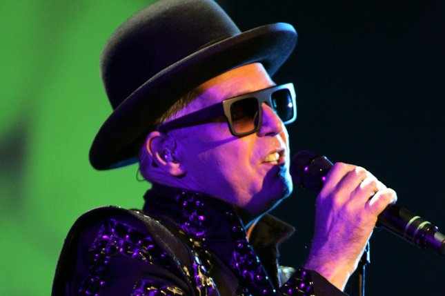 Neil Tennant's band Pet Shop Boys is touring with New Order later this year. File Photo by Michael Bush/UPI