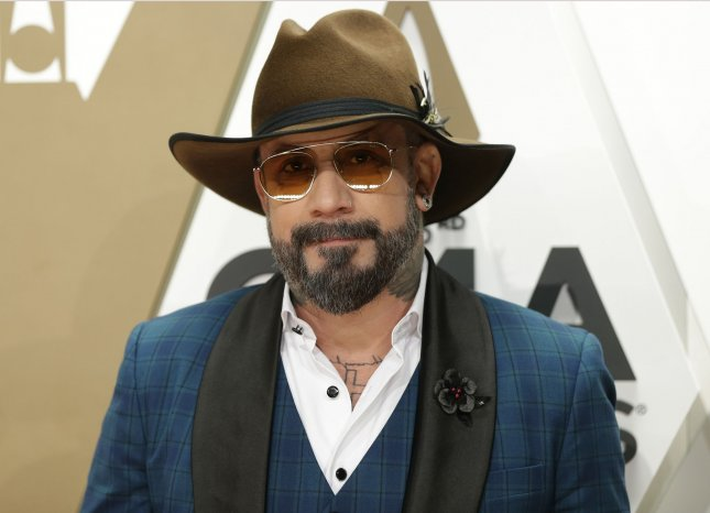 A.J. McLean has taped a guest appearance for NBC's Days of Our Lives. File Photo by John Angelillo/UPI