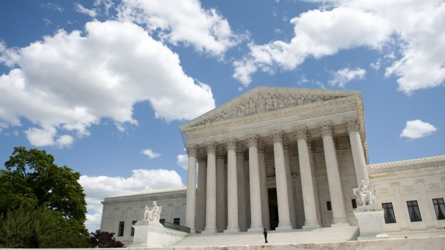 The Supreme Court in Washington, D.C. UPI File Photo/Kevin Dietsch