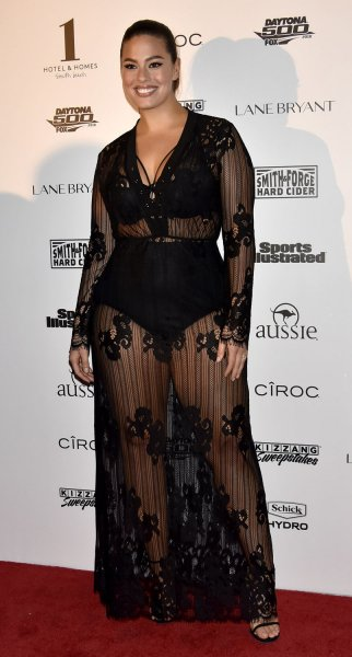 Ashley Graham at the Sports Illustrated swimsuit issue fan festival on February 17. File Photo by Gary I. Rothstein/UPI