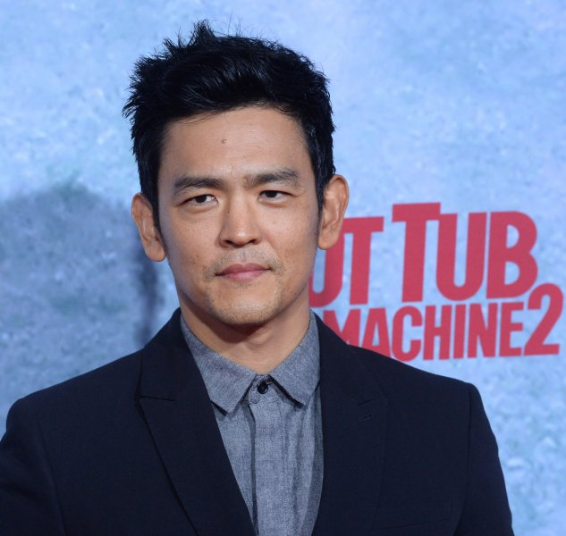 Actor John Cho attends the premiere of Hot Tub Time Machine 2 at the Regency Village Theatre in the Westwood section of Los Angeles on February 18, 2015. Cho told Australia's Herald Sun that his character Hikaru Sulu would be portrayed as an openly gay father in a same-sex relationship in the upcoming film Star Trek Beyond. File Photo by Jim Ruymen/UPI