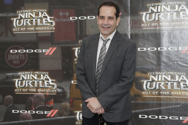 Tony Shalhoub arrives on the red carpet at the Teenage Mutant Ninja Turtles: Out of the Shadows world premiere on May 22, 2016 in New York City. File Photo by John Angelillo/UPI