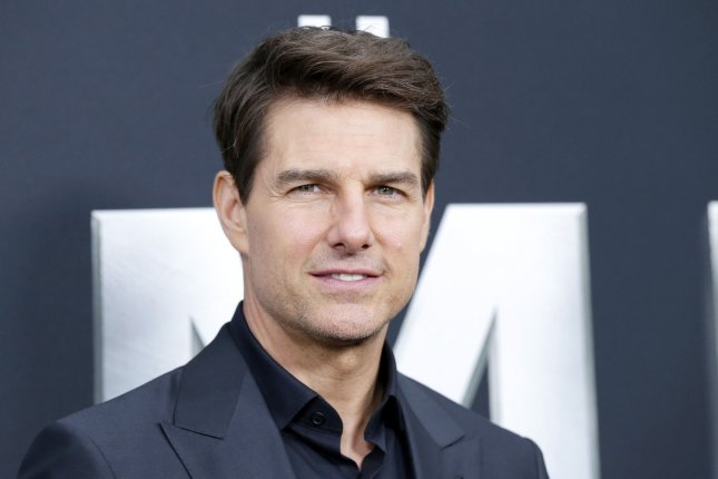 Tom Cruise arrives on the red carpet at the The Mummy New York fan event on June 6. Cruise will reprise his role as Maverick in Top Gun 2. File Photo by John Angelillo/UPI