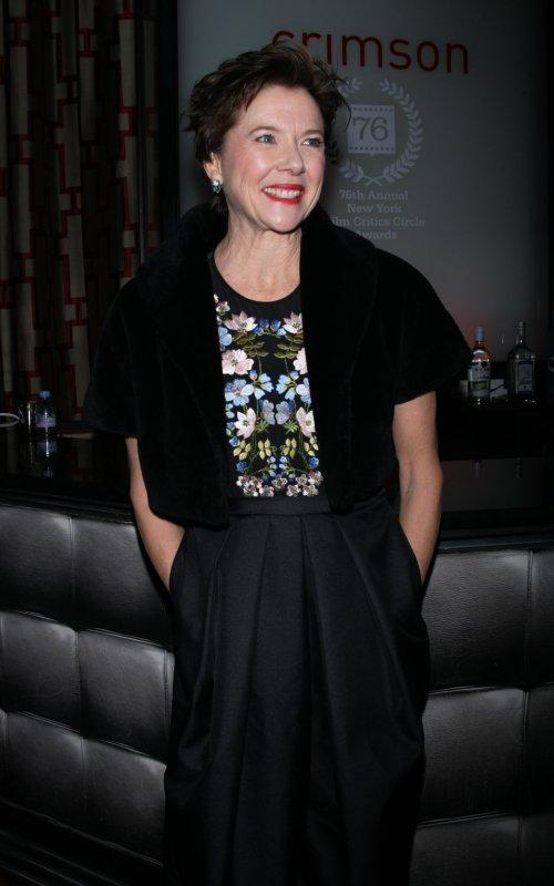 Annette Bening arrives for the New York Film Critics Circle Awards at Crimson in New York on January 10, 2011. UPI /Laura Cavanaugh
