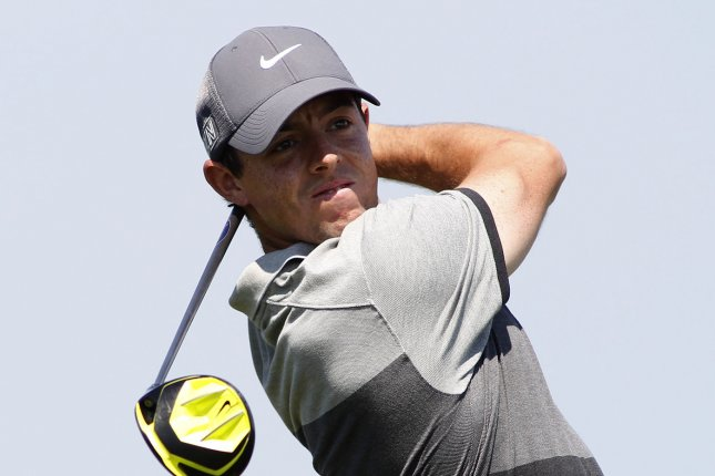 Rory McIlroy. Photo by Frank Polich/UPI