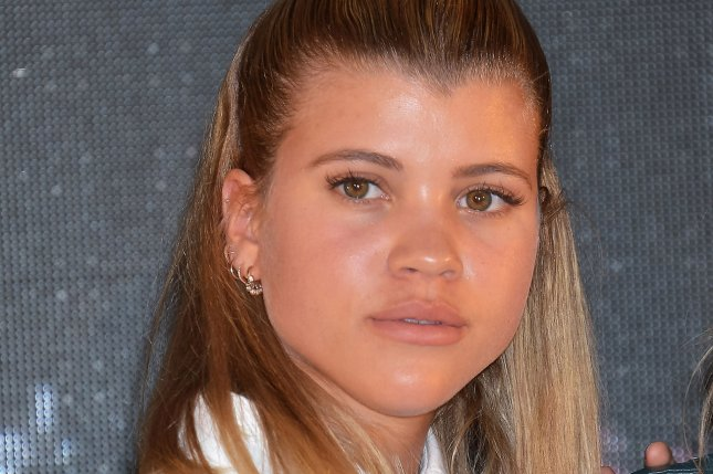 Sofia Richie attends a Samantha Thavasa event in Tokyo, Japan, on April 27. The model shared a smooch with Scott Disick while at dinner Saturday in Miami. File Photo by Keizo Mori/UPI