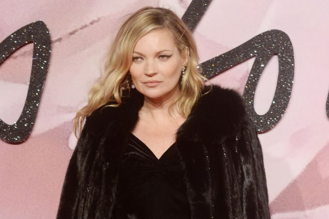 Kate Moss delivered a breathy rendition of Happy Birthday at photographer Mert Alas' birthday bash. File Photo by Rune Hellestad/UPI