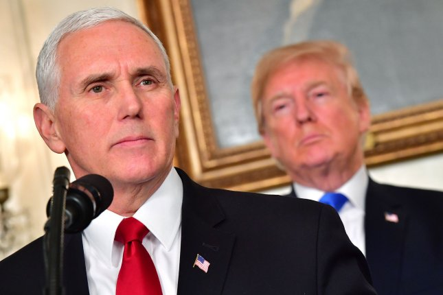Vice President Mike Pence will arrive in Peru for the Summit of Americas Friday -- taking the place of President Donald Trump, who chose not to attend. Photo by Kevin Dietsch/UPI