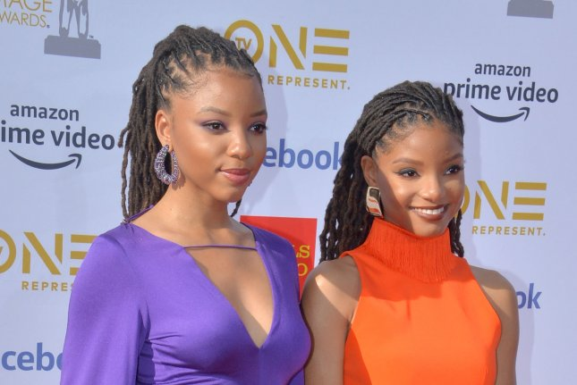 Chloe x Halle perform a cover of The Platters' Enchanged for El Camino: A Breaking Bad Movie. File Photo by Jim Ruymen/UPI