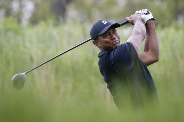 Tiger Woods sits at No. 7 in the Official World Golf Ranking. File Photo by John Angelillo/UPI