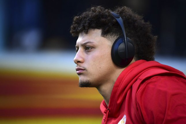 Kansas City Chiefs quarterback Patrick Mahomes (pictured) and Houston Texans defensive end J.J. Watt were the first players to question whether the NFL is ready to return. Last week, the duo said many players are unaware of the health and safety protocols. File Photo by Kevin Dietsch/UPI