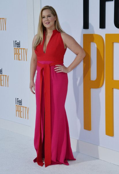 Amy Schumer attends the premiere of I Feel Pretty at the Westwood Village Theatre in Los Angeles on April 17, 2018. The actor turns 40 on June 1. File Photo by Jim Ruymen/UPI