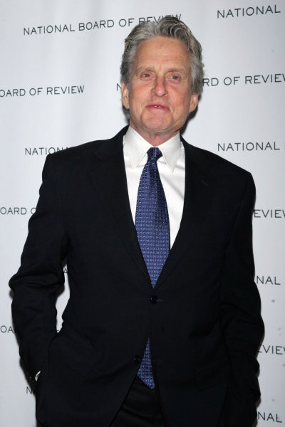 Michael Douglas arrives for the National Board of Review of Motion Pictures Awards Gala at Cipriani in New York on January 12, 2010. UPI /Laura Cavanaugh