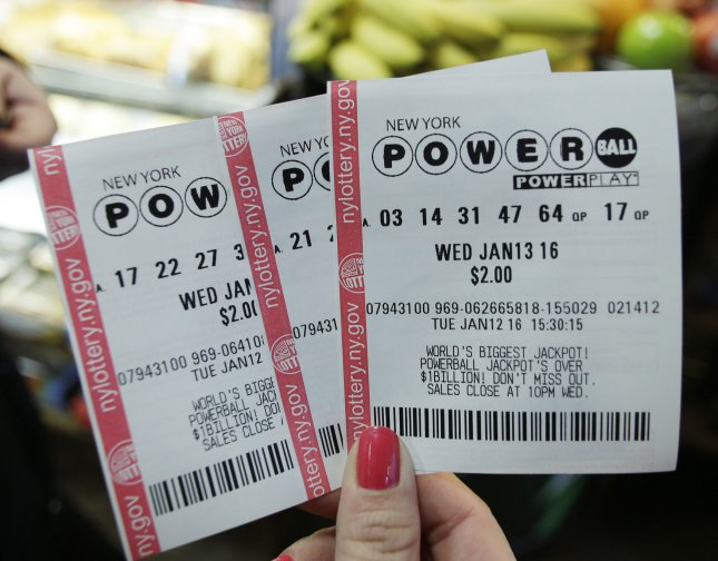A New Zealand woman kept am $8 million-winning lottery ticket in a Monty Python DVD case under her pillow overnight as she waited to claim her prize the next day. Photo by John Angelillo/UPI