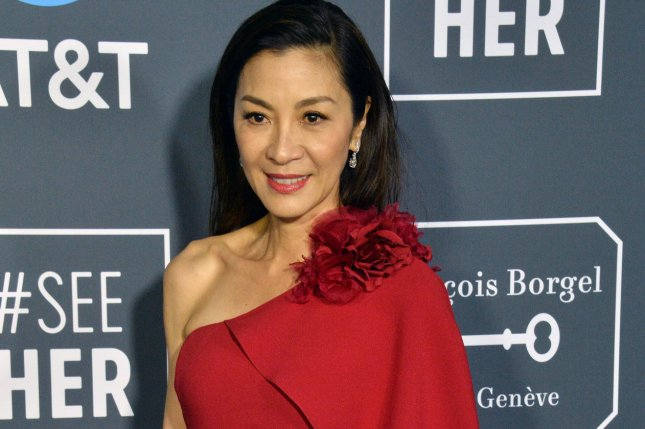 Actress Michelle Yeoh is getting her own Star Trek show. Photo by Jim Ruymen/UPI