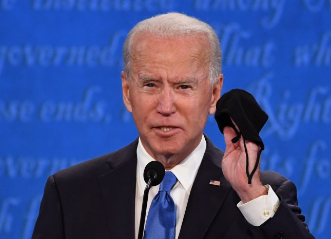 The World Health Organization congratulated president-elect Joe Biden and plans to work with his new administration toward healing amid the COVID-19 pandemic. File Photo by Kevin Dietsch/UPI