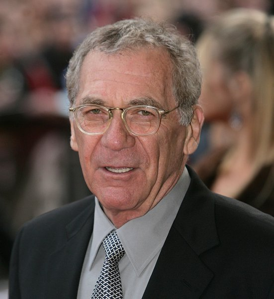 Academy Award winning director Sidney Pollack, shown in this April 14, 2005 file photo arriving at the British premiere of his new film The Interpreter in London, died in Los Angeles on May 26, 2008. (UPI Photo/Hugo Philpott)