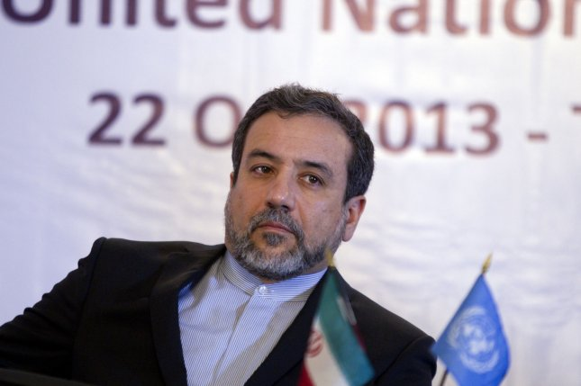 Iran's top nuclear negotiator and deputy foreign minister Abbas Araghchi attends United Nations Day in Tehran, Iran on October 22, 2013. UPI/Maryam Rahmanian