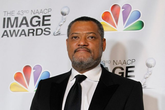 Actor Laurence Fishburne appears backstage in the press room at the 43rd NAACP Image Awards at the Shrine Auditorium in LA on Feb 17, 2012. Laurence Fishburne cast as Alex Haley in upcoming 'Roots' remake. File Photo by UPI/Danny Moloshok