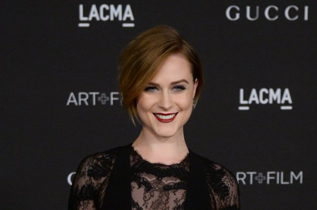 Evan Rachel Wood at the LACMA Art + Film gala on November 1, 2014. The actress stars in a first 'Westworld' teaser trailer. File photo by Jim Ruymen/UPI