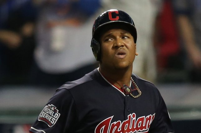 Cleveland Indians' Jose Ramirez helped jumpstart the Indians' offense to earn a victory over the Twins. File photo by Aaron Josefczyk/UPI