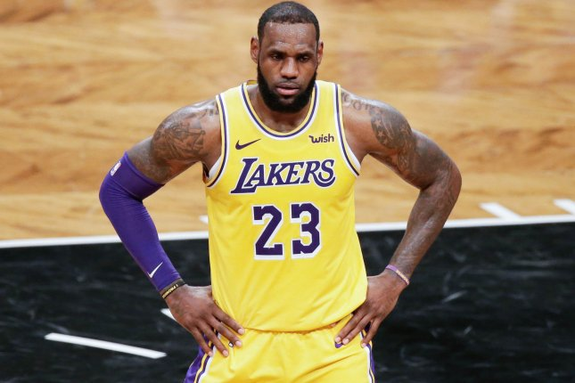 LeBron James and the Los Angeles Lakers take on the Memphis Grizzlies on Sunday. Photo by John Angelillo/UPI