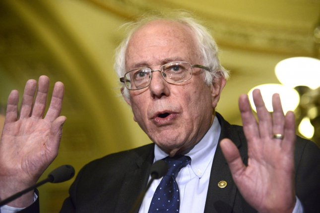 Vermont Sen. Bernie Sanders joined an array of liberal groups calling on Nissan to allow its workers at a factory in Mississippi to unionize. File Photo by Mike Theiler/UPI