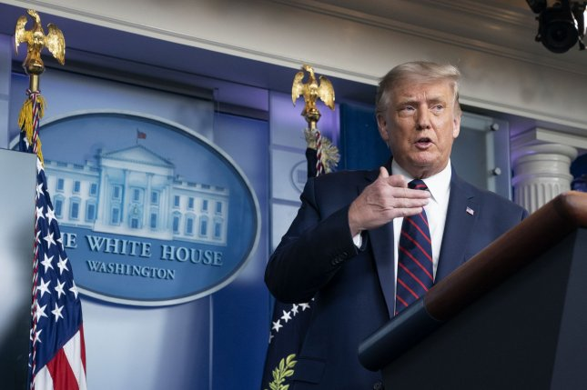 The White House said late Sunday that President Donald Trump will visit Kenosha, Wis., this week as local politicians call on him to reconsider. Photo by Stefani Reynolds/UPI
