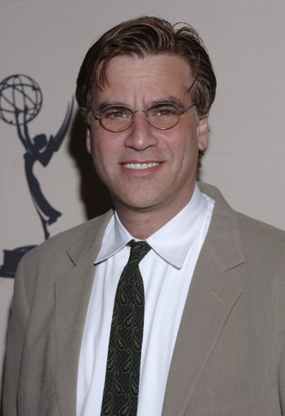 The show creator and writer Aaron Sorkin arrives for 'An Evening With Studio 60 on the Sunset Strip' held at the Academy of Television Arts and Sciences in Los Angeles on September 25, 2006. (UPI Photo/ Phil McCarten)