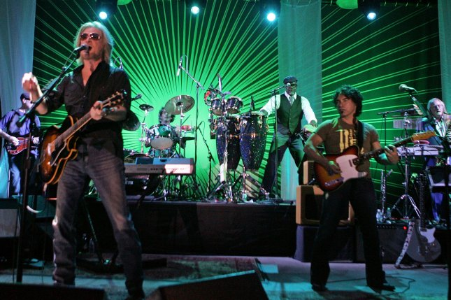 Hall and Oates performs in concert at the Pompano Beach Amphitheater in Pompano Beach, Florida on May 30, 2010. UPI/Michael Bush