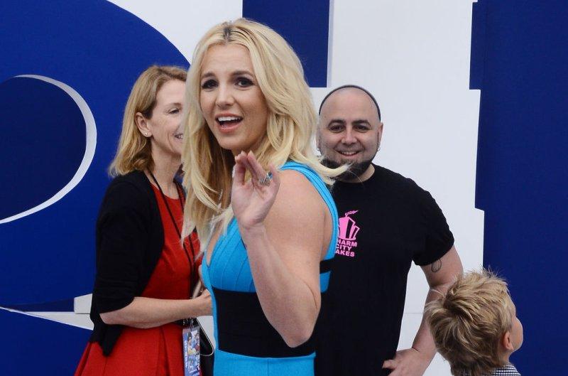 Singer Britney Spears. UPI/Jim Ruymen